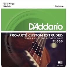 Pro-Arte Custom Extruded Комплект струн для укулеле сопрано, D'Addario
