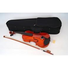 Скрипка 3/4 с футляром и смычком, Carayа