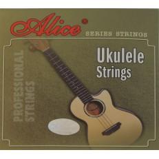 Комплект струн для укулеле, прозрачный нейлон [20] Alice